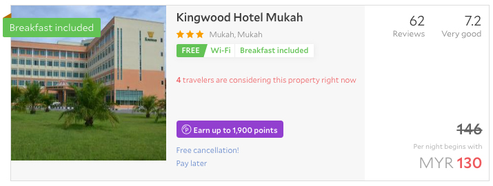 kingwood-hotel-mukah