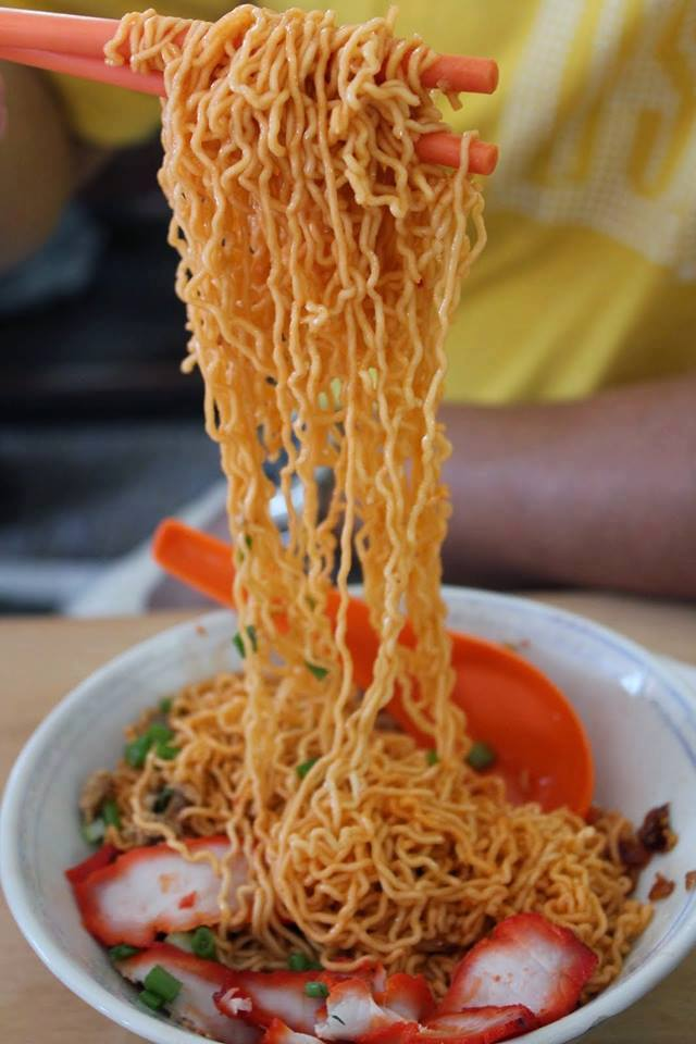 古晋最受欢迎的面食——哥罗(KOLO)面