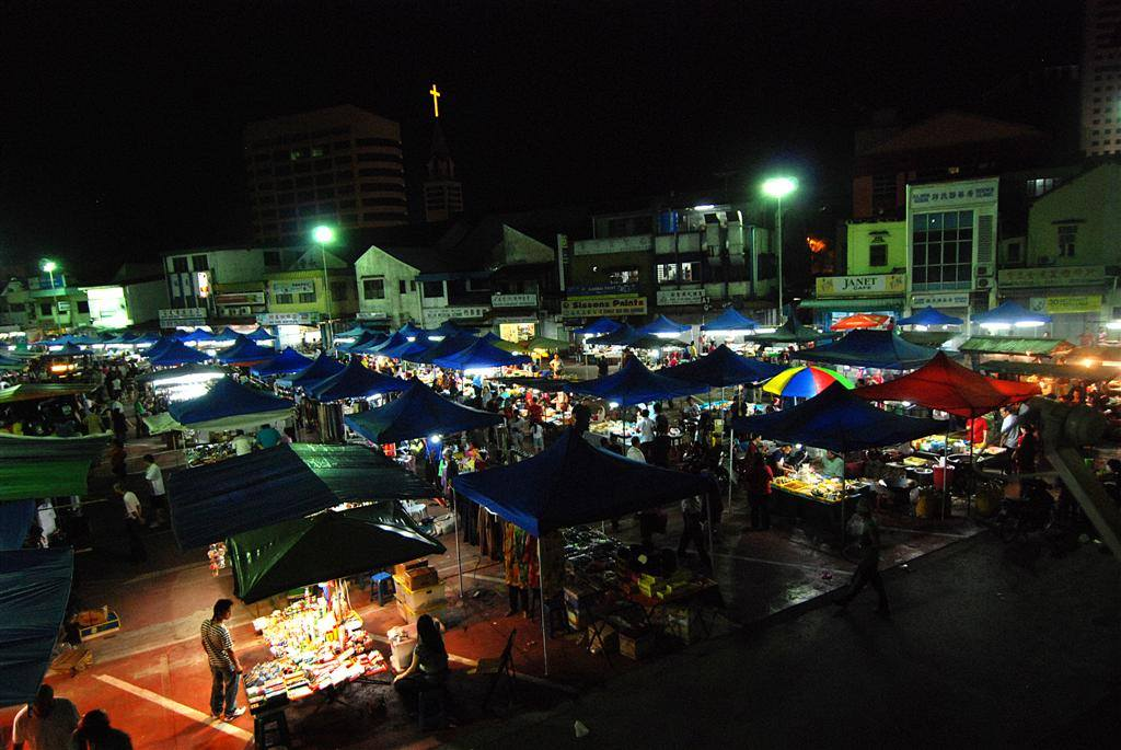 诗巫夜市 Sibu Night Market